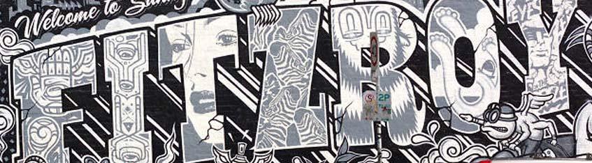 Street art by interns